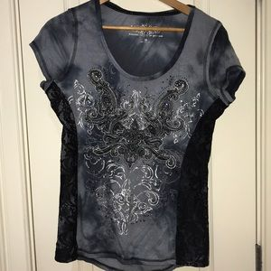 Maurices premium Embroidered tee shirt.